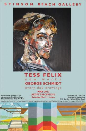 Tess Felix show at Stinson Beach Gallery