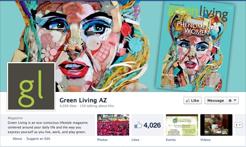 Tess Felix May Cover of Green Living